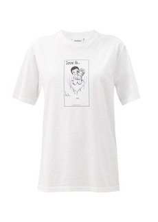 Vetements Love Is? Hot cotton-jersey T-shirt