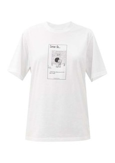 Vetements Love Is... You Are Here cotton-jersey T-shirt