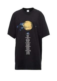Vetements Mars oversized cotton-jersey T-shirt
