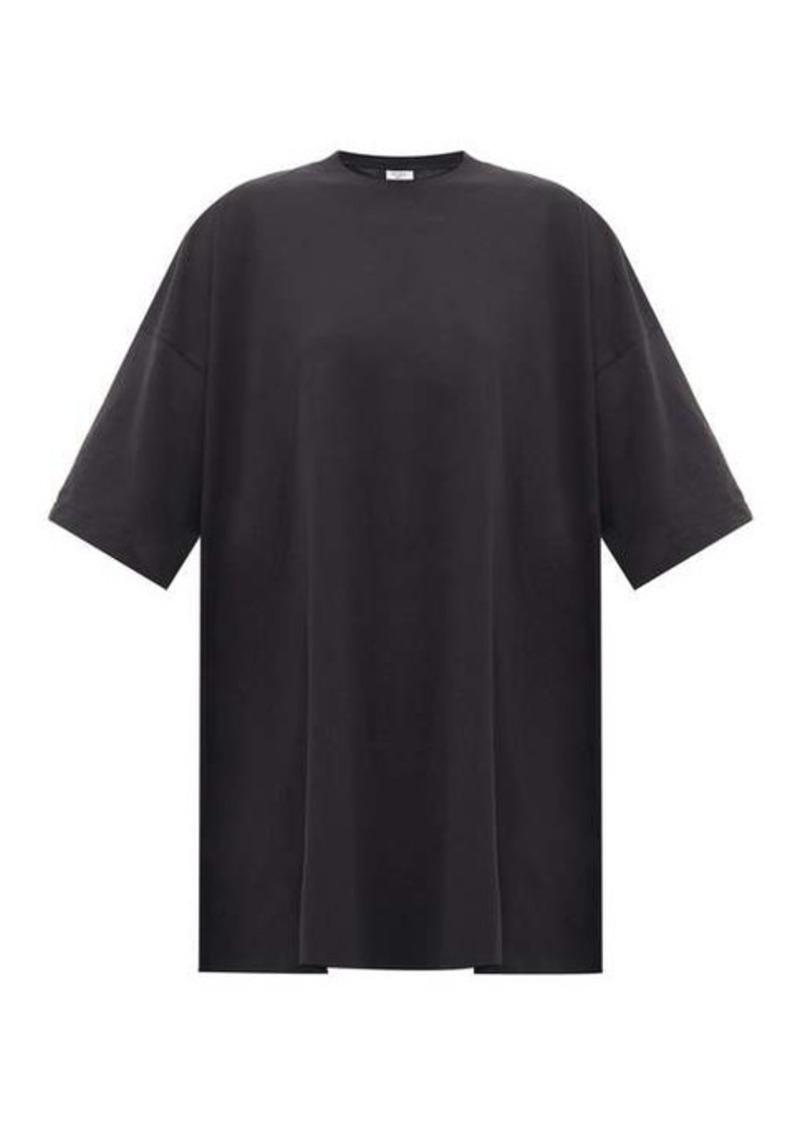 Vetements Oversized cotton T-shirt dress