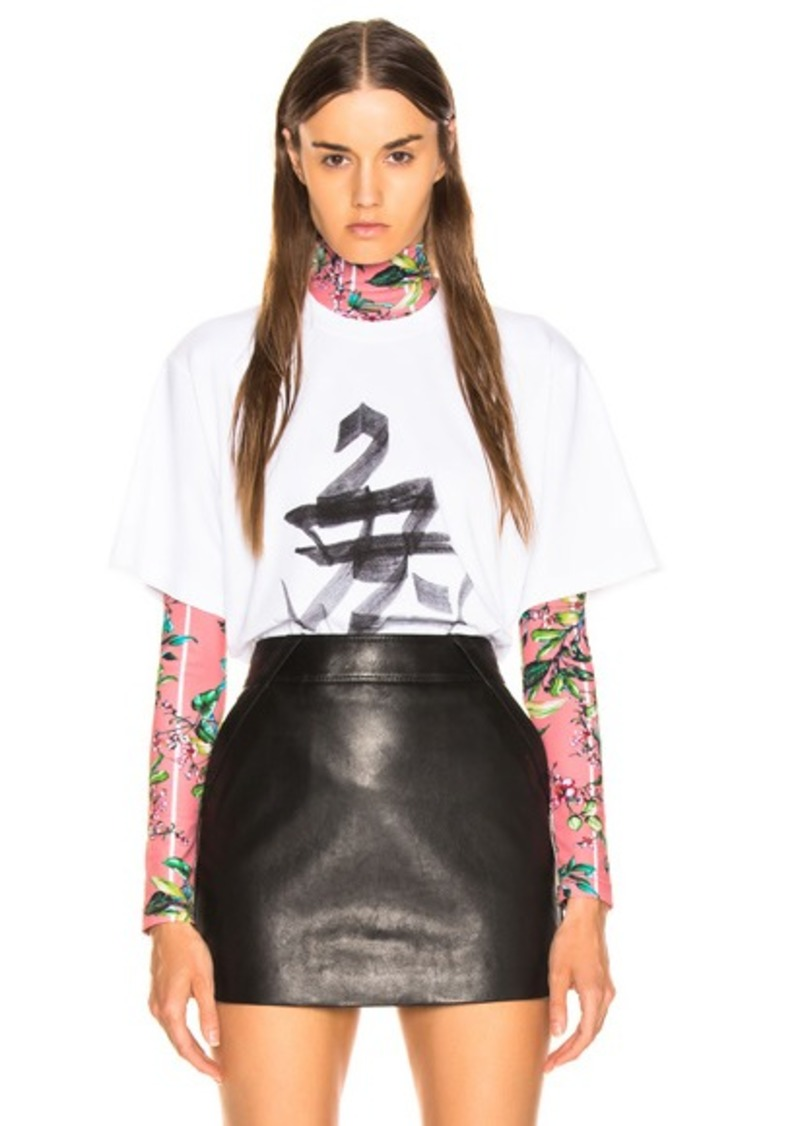 VETEMENTS Rabbit Chinese Zodiac T Shirt