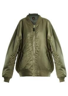 Vetements Reversible bomber jacket