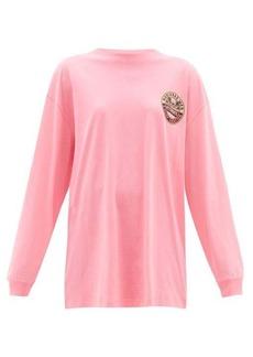 Vetements Surfer-print cotton jersey T-shirt