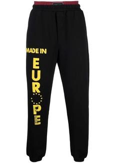 Vetements europe-print track pants