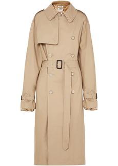 Vetements Woman + Mackintosh Gabardine Trench Coat Beige