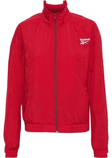Vetements Woman + Reebok Embroidered Shell Jacket Red