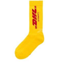VETEMENTS x DHL Socks