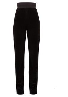 Vetements X Juicy Couture velour track pants