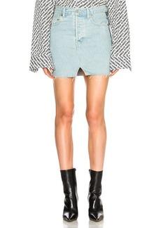 VETEMENTS x Levis Denim Mini Skirt