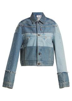Vetements X Levi's reworked denim jacket