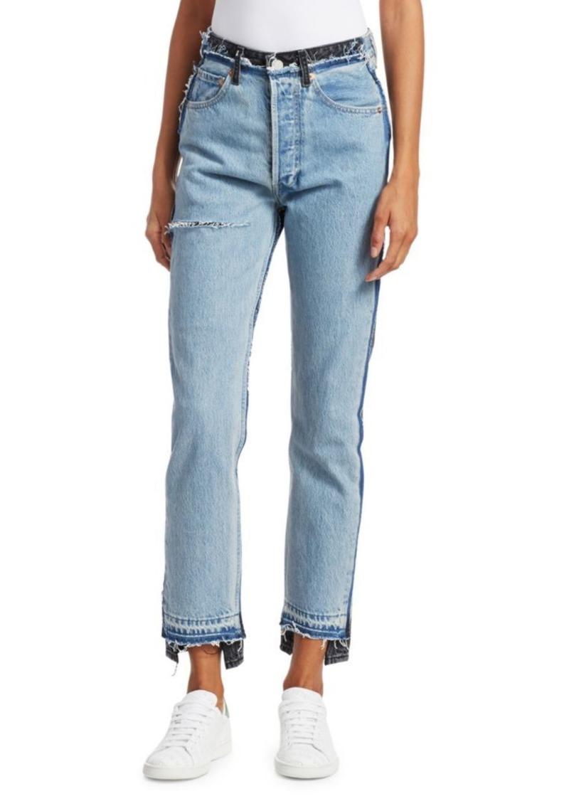 VETEMENTS x Levis Reworked Skinny Crop Jeans