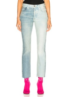 VETEMENTS x Levis Two Tone Cropped Jeans