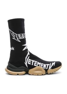 VETEMENTS x Reebok Metal Sock Boots