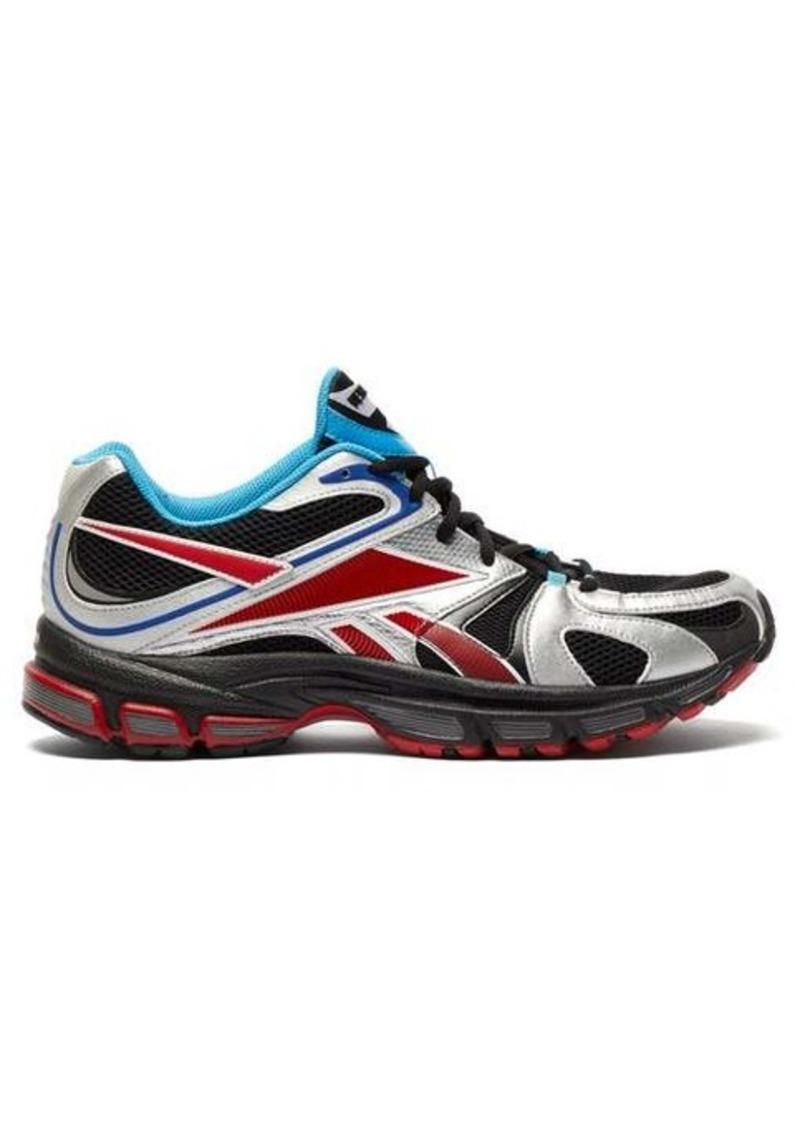 Vetements X Reebok Spike Runner 200 mesh trainers