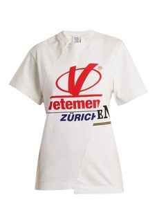 Vetements Zurich reconstructed T-shirt