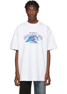 Vetements White 'Marianas Web' T-Shirt