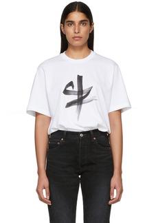 Vetements White Ox Chinese Zodiac T-Shirt
