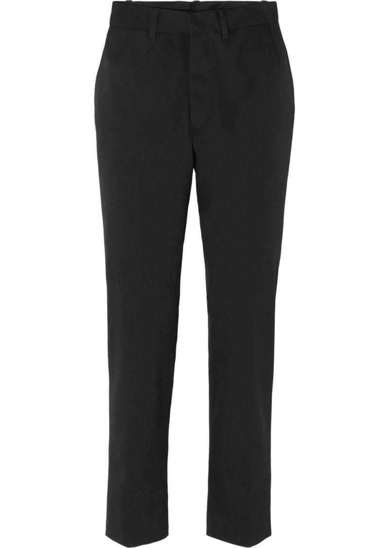 Vetements Wool-blend Straight-leg Pants