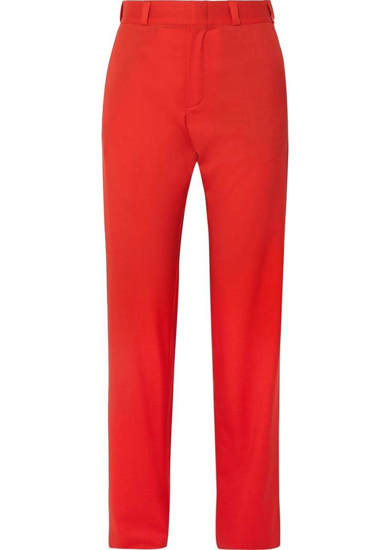 Vetements Wool Straight-leg Pants