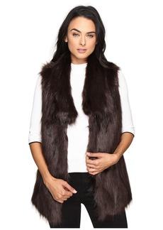 Via Spiga Faux Fur Fox Vest