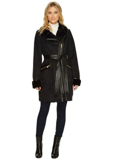 Via Spiga Faux Shearling