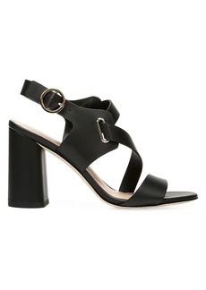Via Spiga Hyria Leather Slingback Sandals