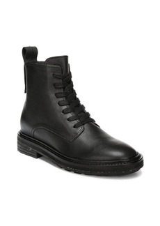 Via Spiga Kinley Leather Combat Boots
