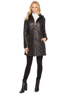 Via Spiga Mini Quilted Hooded