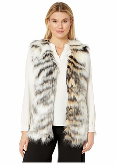 Via Spiga Multi Faux Fur Vest