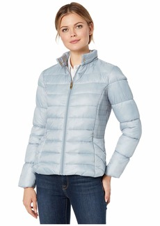 Via Spiga Packable Moto Puffer