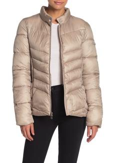 Via Spiga Packable Puffer Jacket