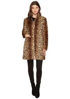 Via Spiga Reversible Nylon Faux Leopard