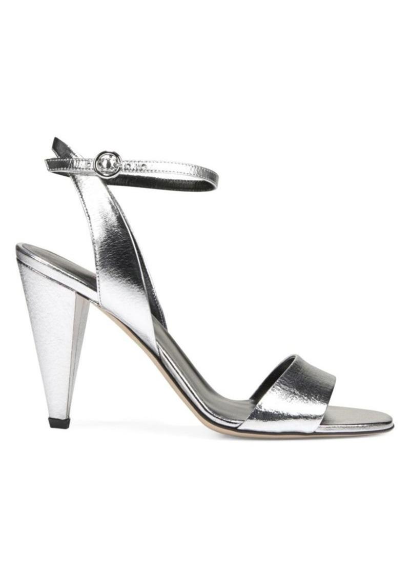 Via Spiga Ria Metallic Leather Sandals