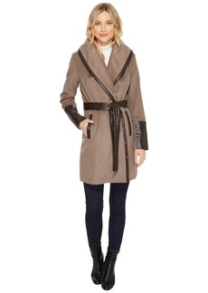 Via Spiga Single Breasted Belted Coat