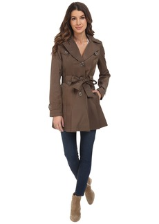 Via Spiga Single Breasted Belted Coat