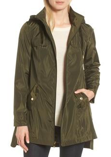 Via Spiga Velvet Pull Packable Raincoat