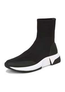 Via Spiga Verion Stretch-Sock Sneakers