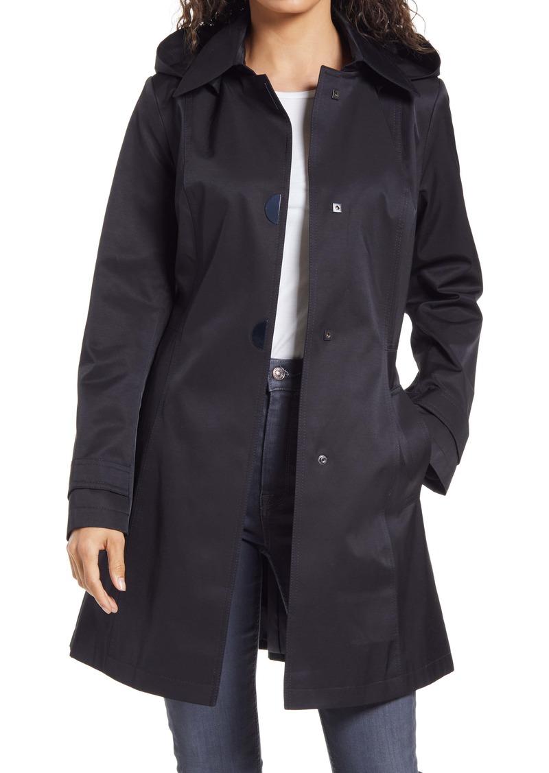 Via Spiga A-Line Hooded Raincoat