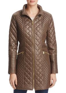 Via Spiga Diamond Quilted Coat