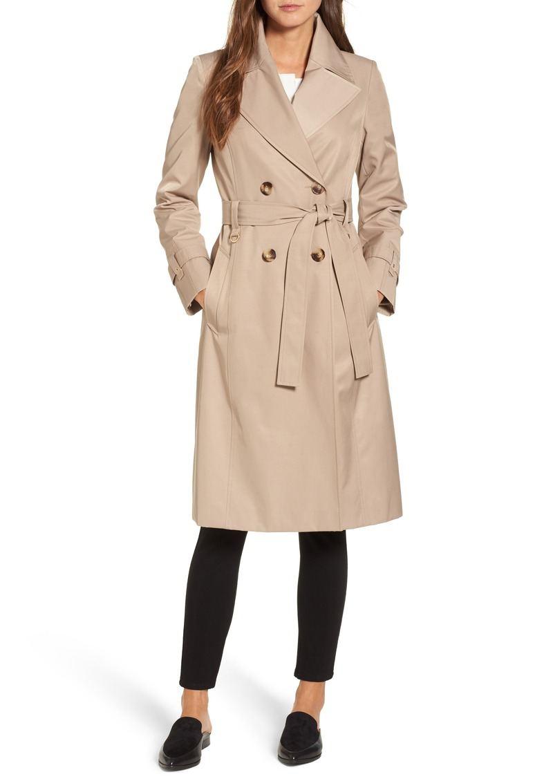 bbbe94d1226 Via Spiga Via Spiga Double Breasted Trench Coat Now  89.98