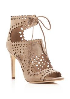 Via Spiga Elysia Perforated Lace Up Sandals