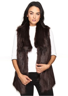 Via Spiga Faux Fur Fox Vest
