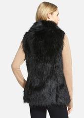 Via Spiga Faux Fur Vest (Online Only)