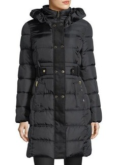 Via Spiga Feather-Free Quilted Puffer Jacket