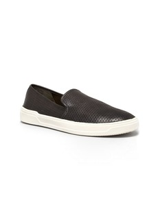 Via Spiga Galeas Perforated Slip On Sneakers