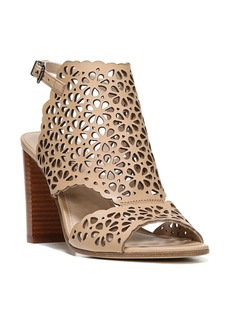 Via Spiga Garnet Perforated Ankle Strap Sandal (Women)