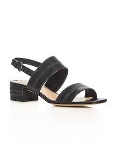 Via Spiga Gem Double Strap Slingback Sandals