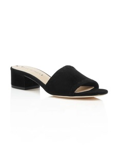 Via Spiga Gwendolyn Low Heel Slide Sandals