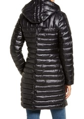 Via Spiga Hooded Packable Puffer Coat
