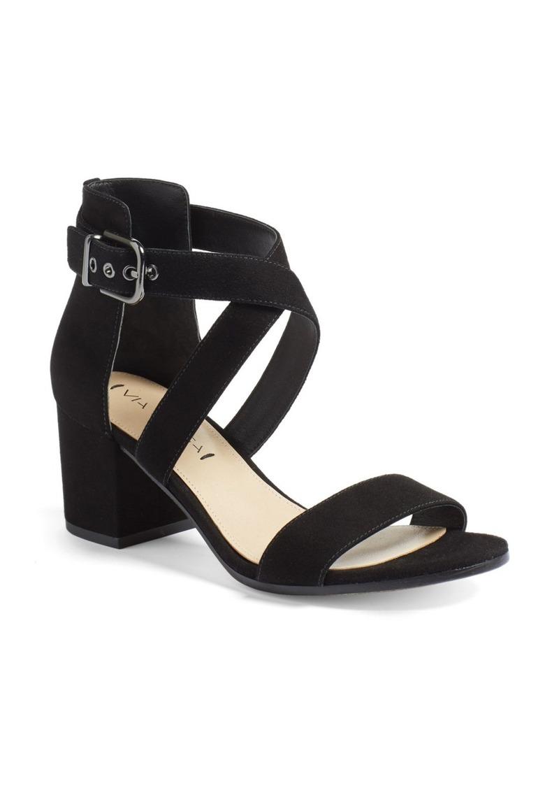 371fb6e5902 Via Spiga Via Spiga  Jobina  Crisscross Strap Block Heel Sandal ...